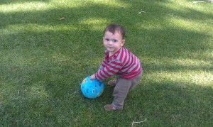Jack with the crocodile creek ball